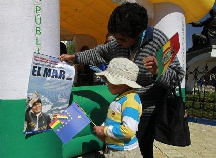 """Evo Morales, la burguesía boliviana y la """"borrachera"""" marítima"""