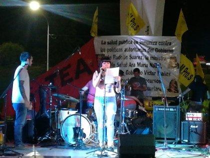 Día de la enfermería: festival en Mendoza por el salario y contra la precarización laboral