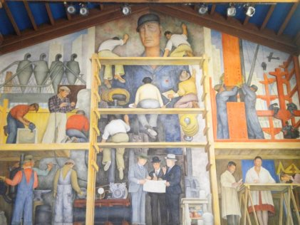 Intento fallido de vender el mural de Diego Rivera en Estados Unidos