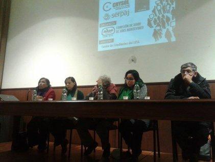 """Docentes de la Comisión de DDHH realizan un gran Foro-Debate contra la """"Criminalización de la Protesta"""""""