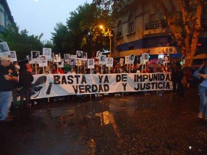 Miles marcharon en repudio al robo y las amenazas al GIAF