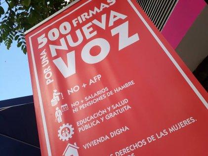 1.500 firmas para legalizar una voz anticapitalista en Chile