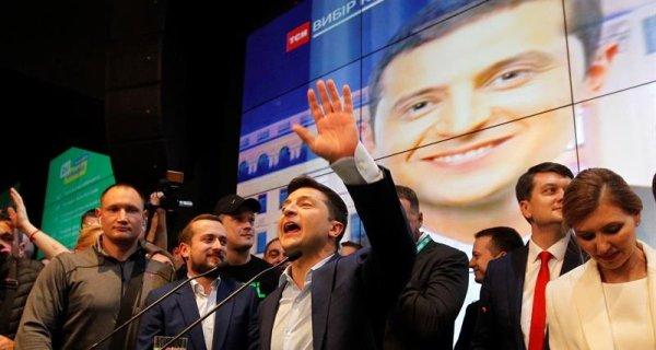 Ucrania eligió a un actor con discurso antiestablishment como presidente