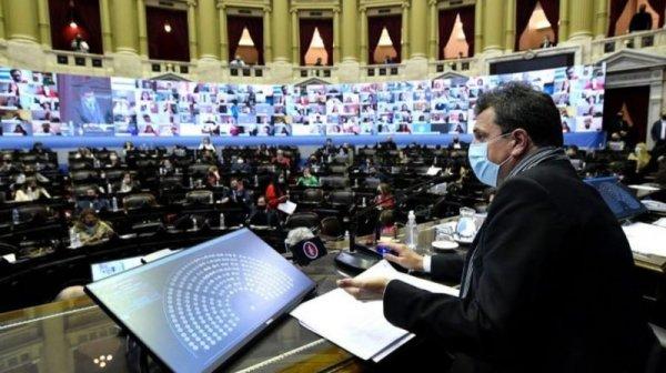 El Congreso argentino votó el presupuesto del FMI en una sesión llena de maniobras