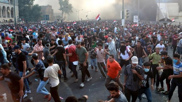 Más de veinte manifestantes muertos durante una ola de protestas en Irak