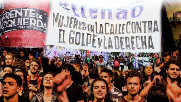 Hoy el Frente de Izquierda marcha contra Bolsonaro con una política independiente