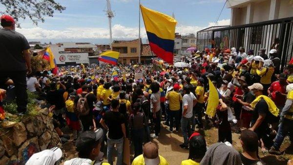 Cali, centro de la resistencia a la represión en Colombia