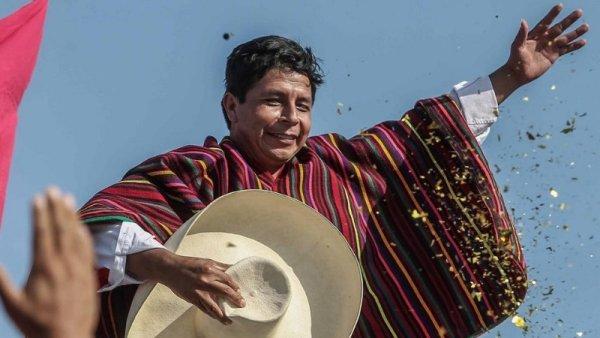 Pedro Castillo es el virtual ganador del balotaje en Perú