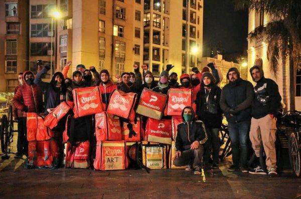 La juventud trabajadora sale a la calle: Paro international de apps con masiva participación en Brasil y Argentina