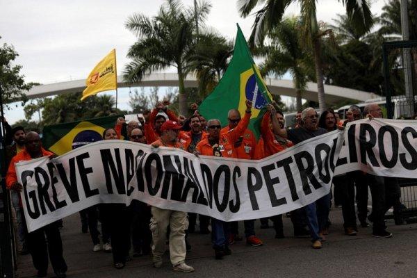 Brasil: exigen que se llame a huelga nacional en apoyo a la lucha de los petroleros