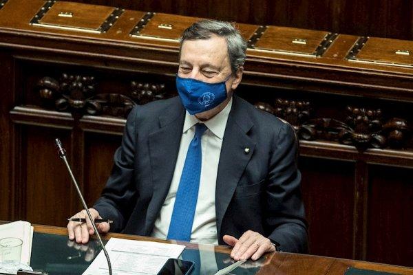 El Gobierno de Draghi logró la investidura en Italia